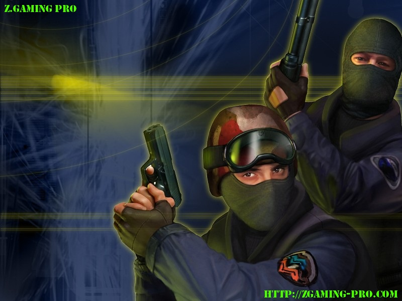 Default menu background (Стандартный фон меню) Counter-Strike 1.6