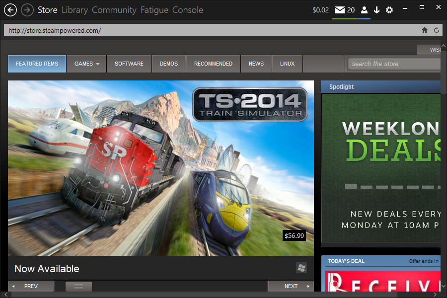Metro for Steam (Windows 8)