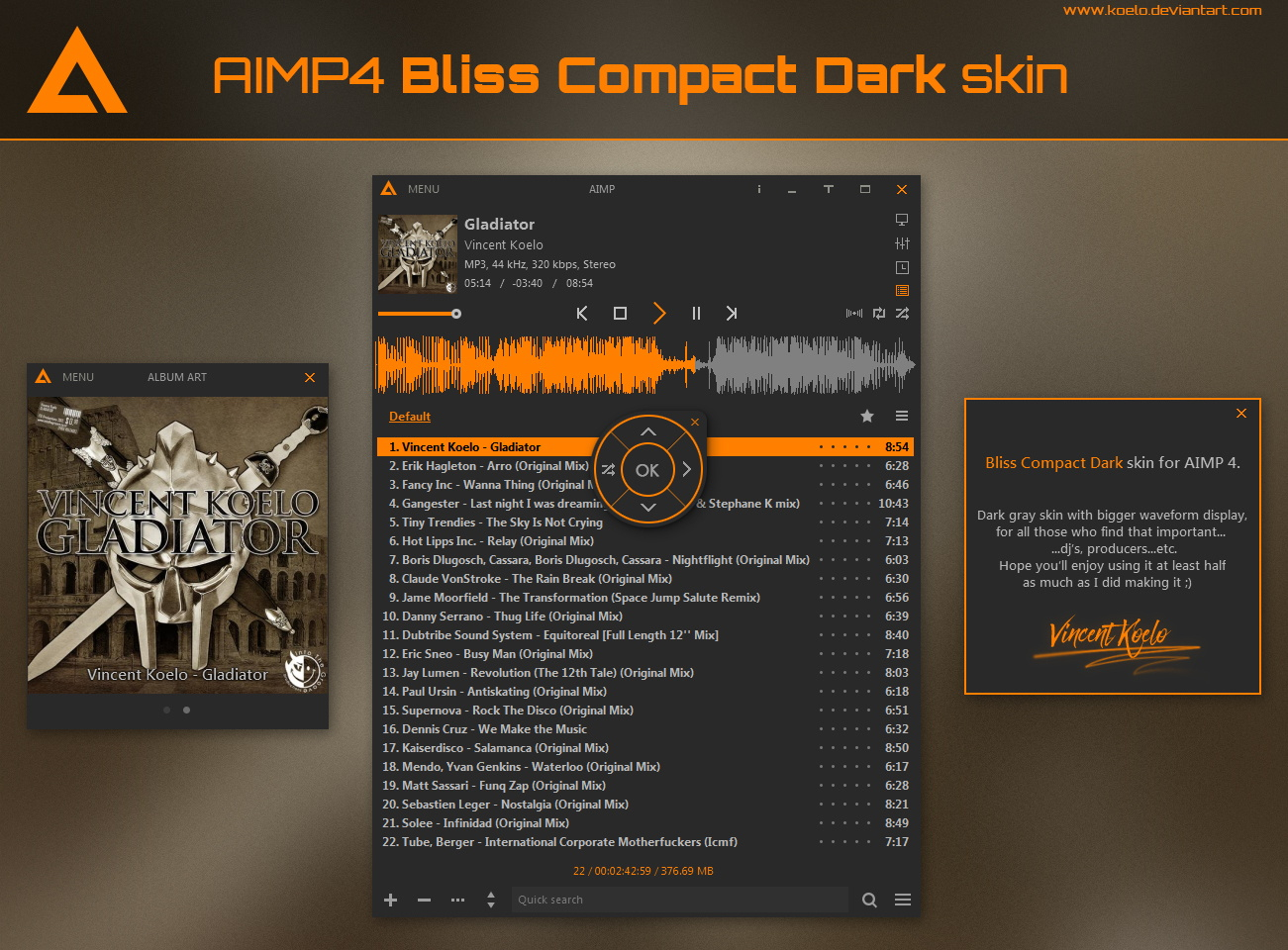 Bliss Compact Dark v1.4